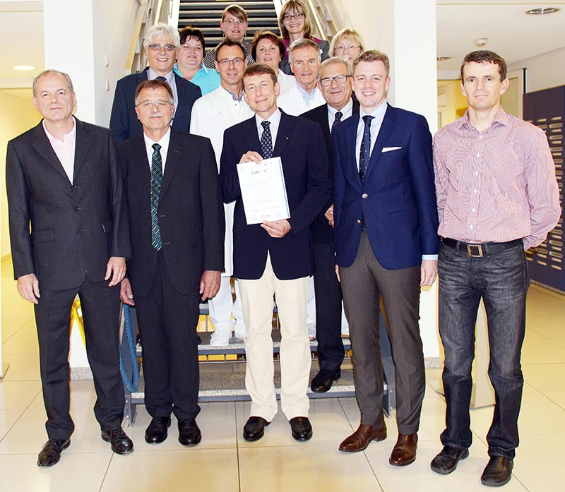 Die Abteilung Orthopädie an der Klinik Münchberg ist seit Juli 2014 als EndoProthetikZentrum (EPZ) zertifiziert
